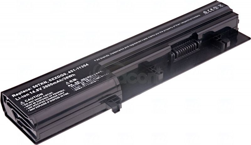 Batéria T6 power Dell Vostro 3300, 3350 serie, 4cell, 2600mAh