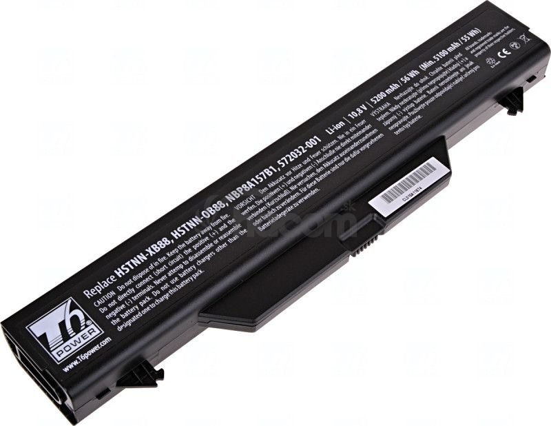 Batéria T6 power HP ProBook 4510s, 4515s, 4710s, 6cell, 5200mAh