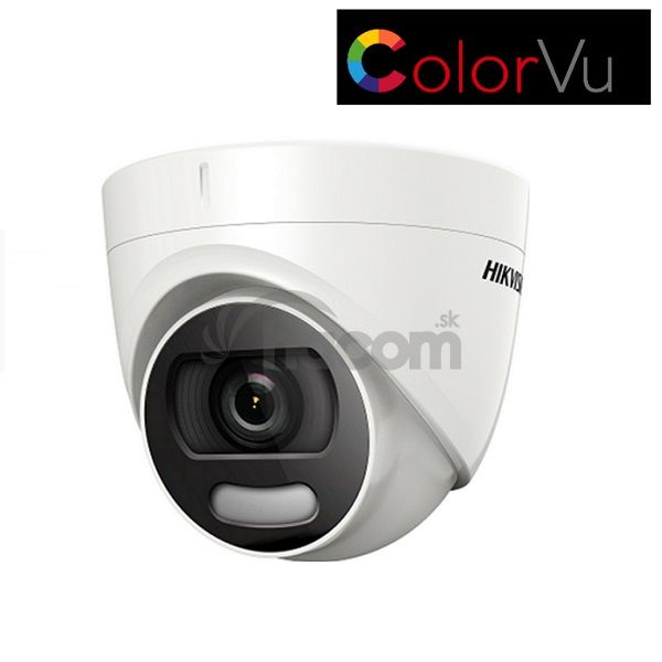 Dome kamera Hikvision DS-2CE72DFT-F 2MPx 6mm turbo HD 4v1 ColorVU, IR 20m noc