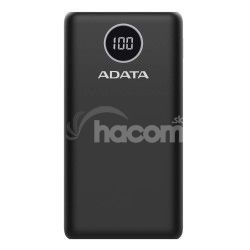 ADATA P20000QCD Power Bank 20000mAh čierna