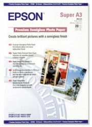 EPSON A3 +, Premium Semigloss Photo Paper (20listů)