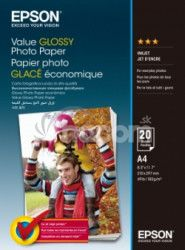 EPSON Value Glossy Photo Paper A4 20 sheet