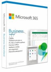 Microsoft 365 Business Standard P6 Mac / Win, 1 rok, SK