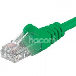 Kábel Patch UTP RJ45-RJ45 level 5e 0.25, zelená