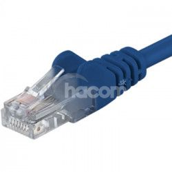 PremiumCord Kábel Patch UTP RJ45-RJ45 level 5e 0.25 modrá