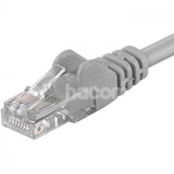 PremiumCord Kábel Patch UTP RJ45-RJ45 level 5e 0.25 sivá