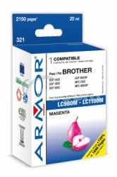 Armor ink-jet pre Brother DCP 145, (LC980 / 1100M)