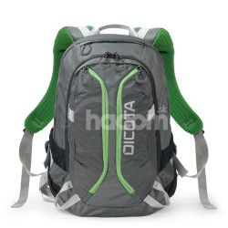 Dicota Backpack Active 14-15.6 grey / lime