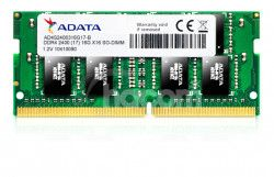 SO-DIMM 4GB DDR4-2400MHz ADATA 512x8 CL17