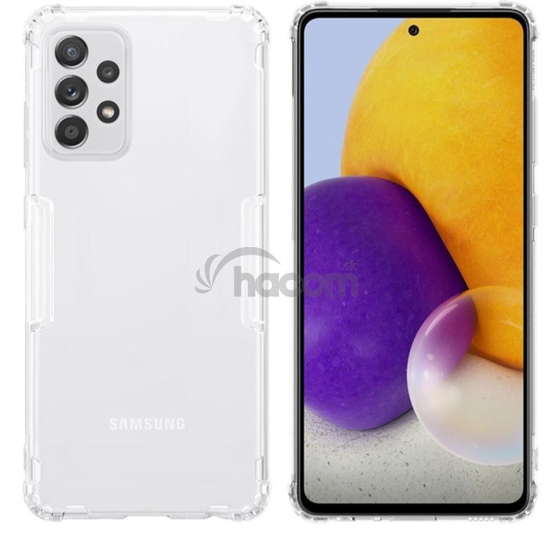 Nillkin Nature TPU Kryt pre Samsung Galaxy A72 Transparent
